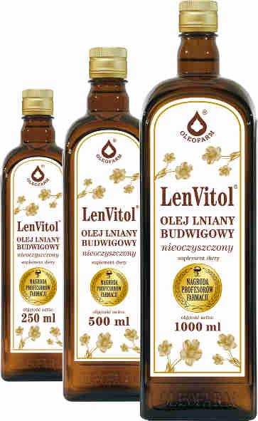 LenVitol - olej lniany budwigowy